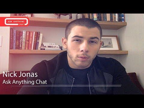 Nick Jonas MRL Ask Anything Chat w/ Romeo (Full Version)