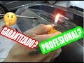 REPARACION DE PARAGOLPES PLASTICOS