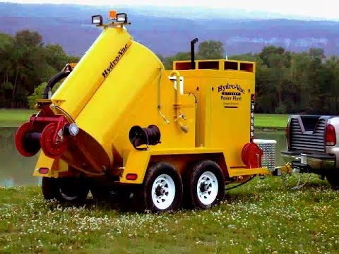 Hydro Excavation Vacuum For Easy Access To Underground Utilities
