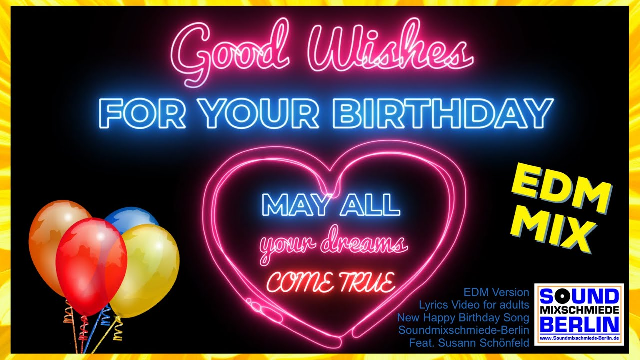 Birthday Song for Adults Birthday Wishes Video ❤️Good Wishes For Your Birthday Song 2020 WhatsApp