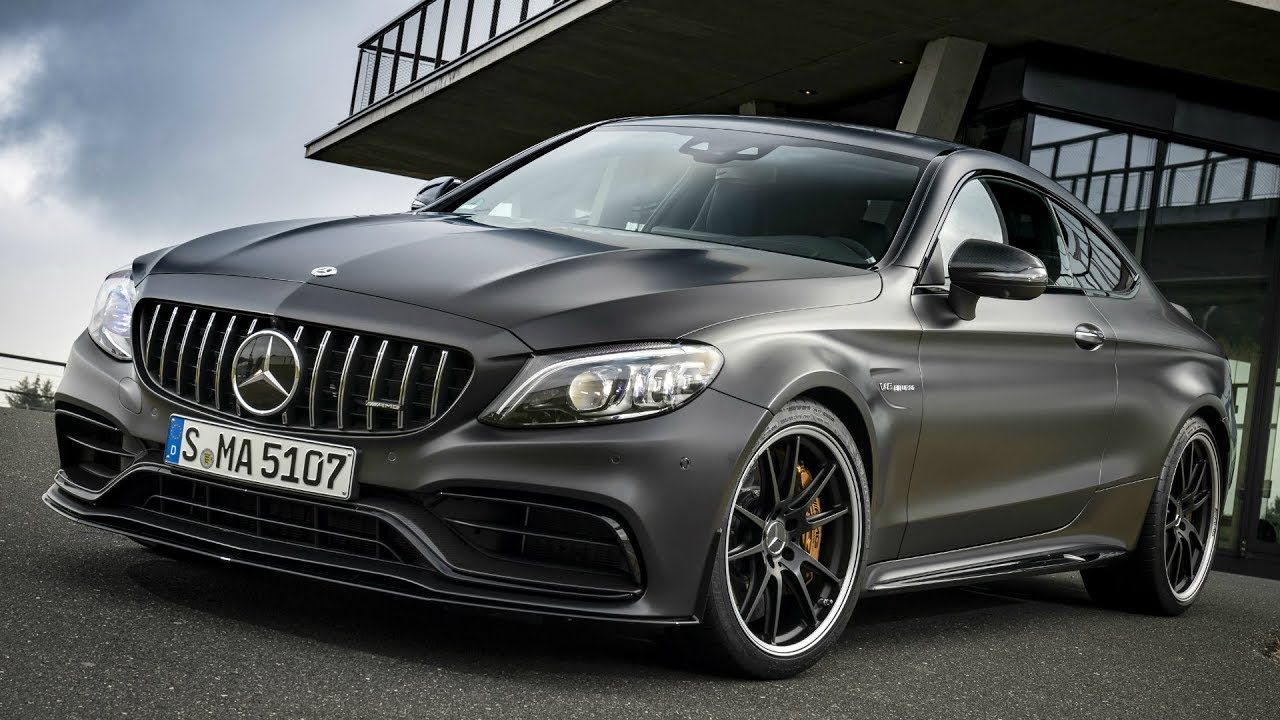 2019 Mercedes Amg C 63 S Coupe Powerful V8 Engine