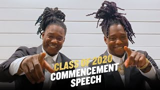 Shaquill and Shaquem Griffin Deliver UCF Virtual Commencement Speech