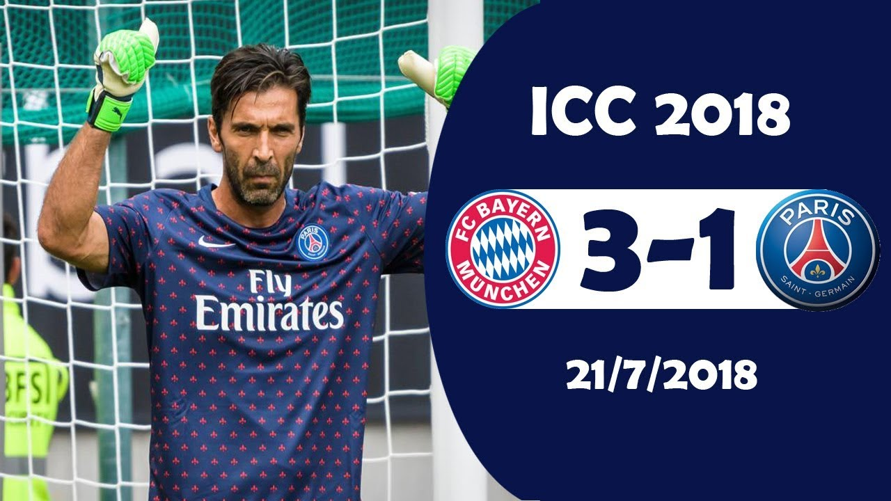 Download Bayern München vs PSG 3-1 | Highlights & Goals | ICC 21/7/2018