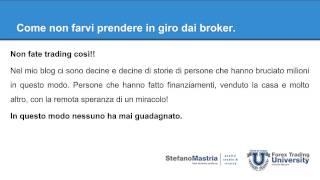 Forex: Webinar mensile di base, per imparare a non perdere soldi con il trading.