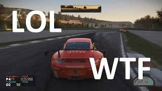 Project CARS Online - Funny Moments, Fails, Crashes & Glitches (PS4 Gameplay)