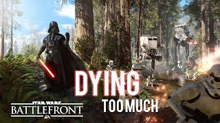 Star Wars Battlefront Multiplayer - Dying Too Much - PC Ultra Gameplay