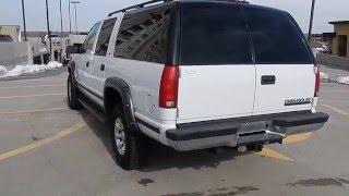 LOW MILES 1999 Chevrolet Suburban 2500 4x4 3/4 Ton 454 Big Block V8