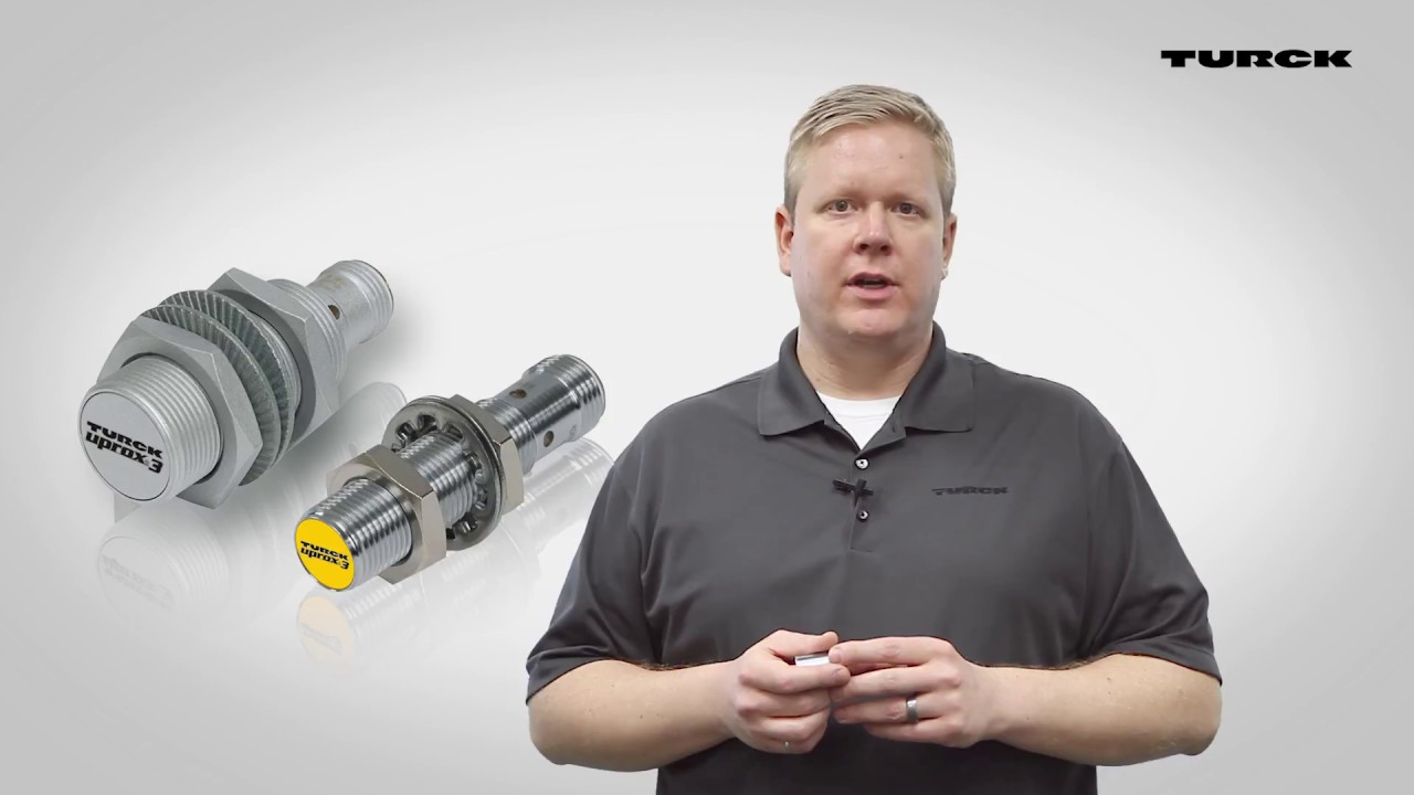 Uprox Io Link Inductive Factor 1 Sensors Youtube Tagged With Proximity Switch Sensor Circuit