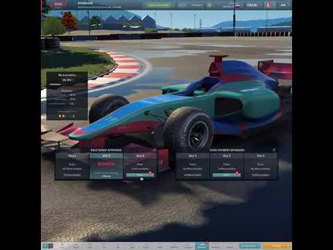 Motorsport manager Season 1 : Preparing for race. |