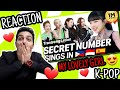 SECRET NUMBER GIRLS 😍 sing in THREE Languages🎤| INA/TAG/SPN - AHMED REACTION