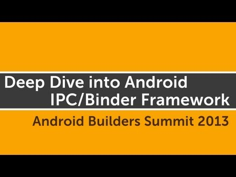 Deep Dive into Android IPC/Binder Framework