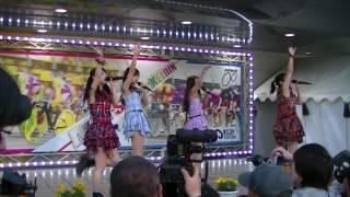 アイドルグループparfait(パルフエ) 5/5に松戸競輪場で行われた応援大使...