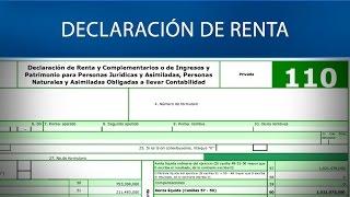 Declaración de renta. - DIAN [Derecho tributario]