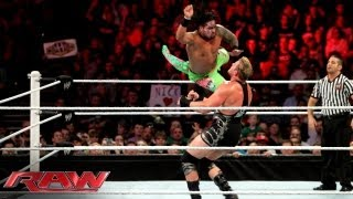 The Usos vs. Tons of Funk vs. The Real Americans - Triple Threat Elimination Tag Team Match: Raw