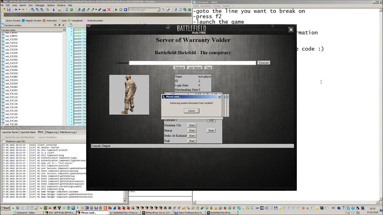 Tutorial - Debugging In Source Code With IDA Pro