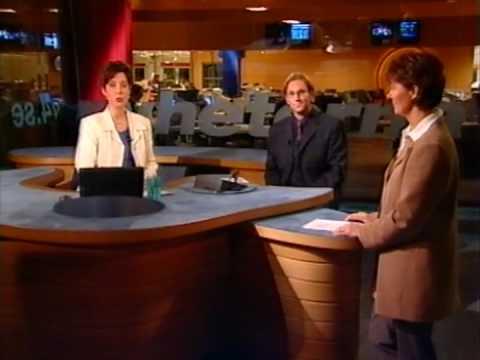 Peter Jihde i TV4-sporten 1997