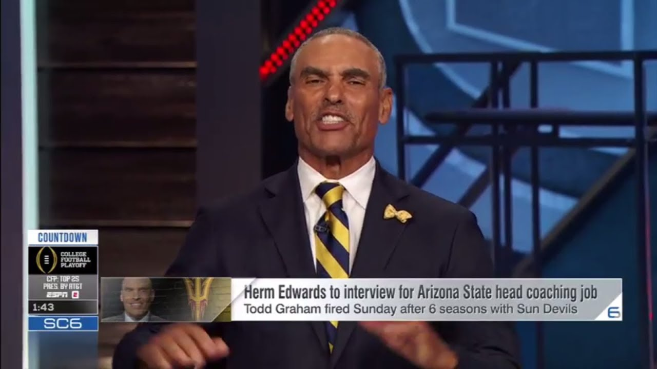 Herm Edwards to interview for the Arizona State job this weekend