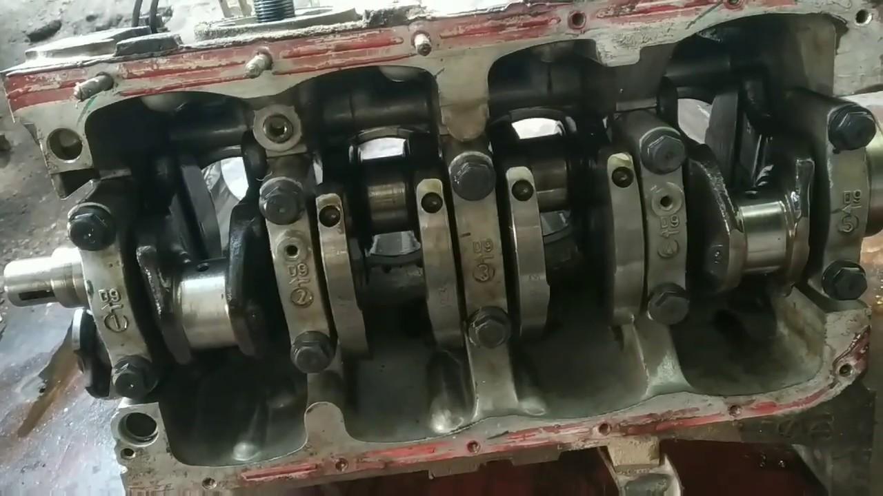 Maruti Suzuki EECO engine overhaul and replace crank shaft || eeco crank shaft replace