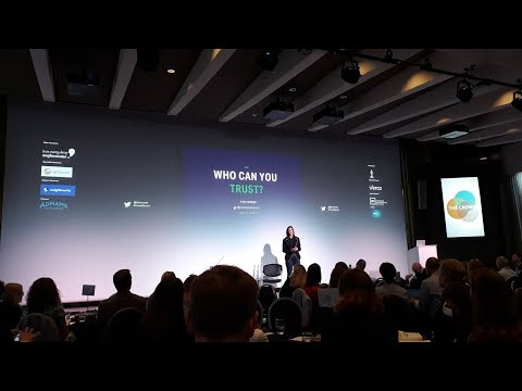 Rachel Botsman on Who Can You Trust - Crowd Forum (Oct 2017) - Video Highlights