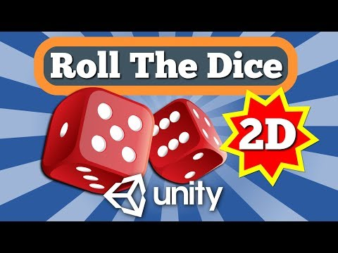 Unity Tutorial How To Make Roll The Dice Feature For 2D Board Game With Simple C# Script
