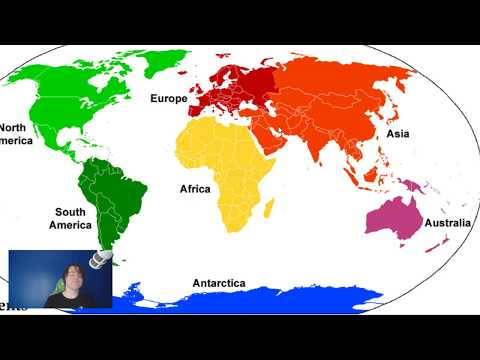 Countries On More Than One Continent (Trans Continental)