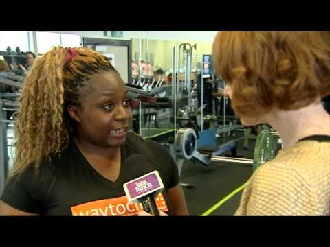 TV3 interview with fabulous reporter Claire about women in Powerlifting