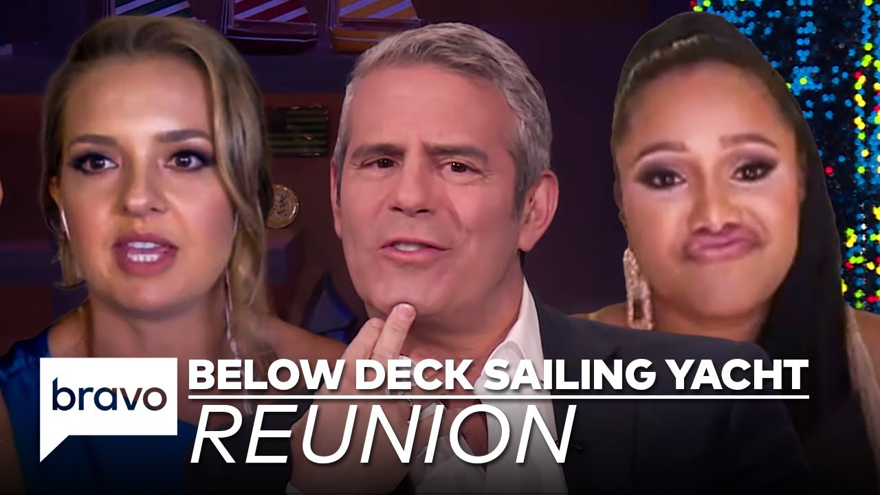 Your First Look at the Below Deck Sailing Yacht Season 2 Reunion | Bravo
