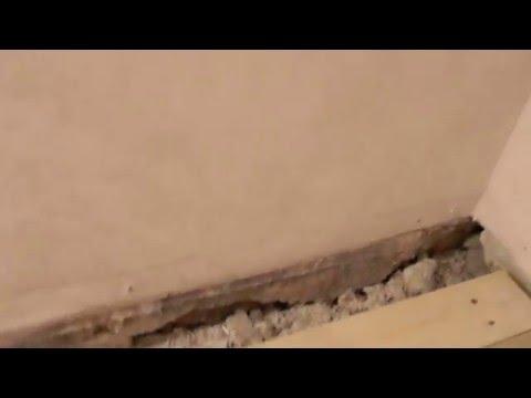 чем утеплить щели в полу
