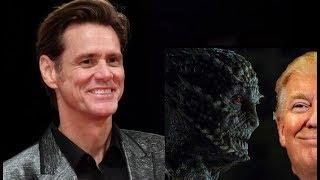 Jim Carrey vuelve a sorprender afirma que Trump es un príncipe de la sangre Reptil Illuminati