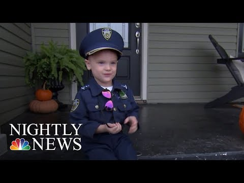 This Police Officer Has A 4-Year-Old Apprentice | NBC Nightly News