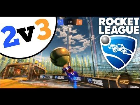 Rocket League   2v3 RANKED!?