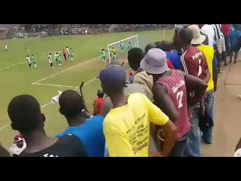 Shabanie Mine goal against Caps United, Chibuku Cup quarter final 2017