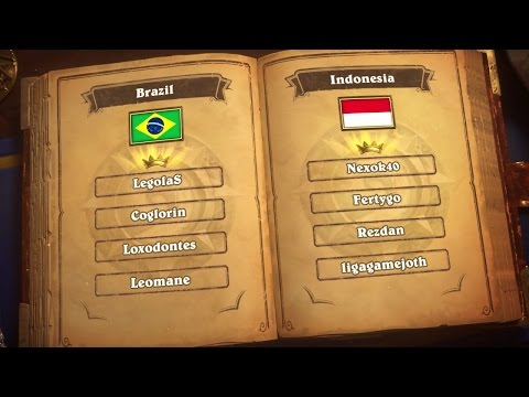 Brazil vs Indonesia - Group A - Match 2 - Global Games
