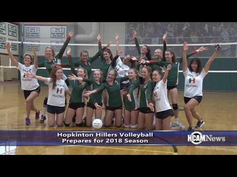 2018 Hopkinton Hillers Volleyball Preview