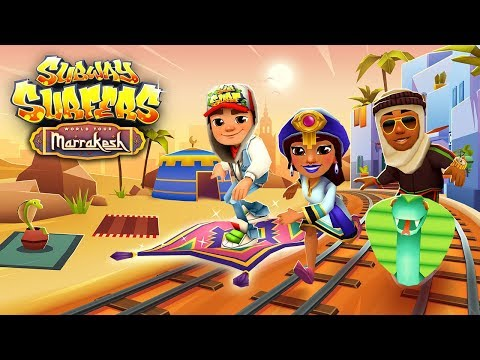 🇲🇦 Subway Surfers World Tour 2018 - Marrakesh (Official Trailer)
