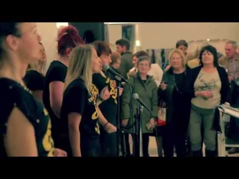 The O'Jays 'Love Train' cover by Edinburgh's Got Soul Choir - Harvey Nichols 2014
