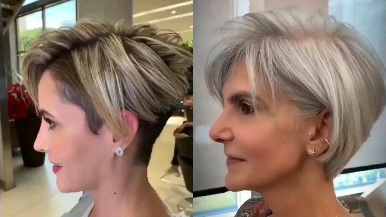 Meilleures Coiffures pour femme +30 ans - idées de coupe de cheveux à la mode 2021 😍