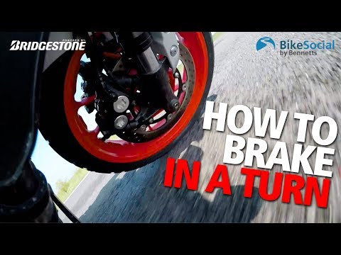 Should You Brake While Turning? Motorcycle Riding Tips