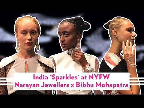 Narayan Jewellers x Bibhu Mohapatra at New York Fashion Week
