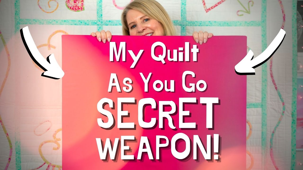 How To Quilt As You Go: My Secret Weapon for QAYG (DIY Ironing Board)