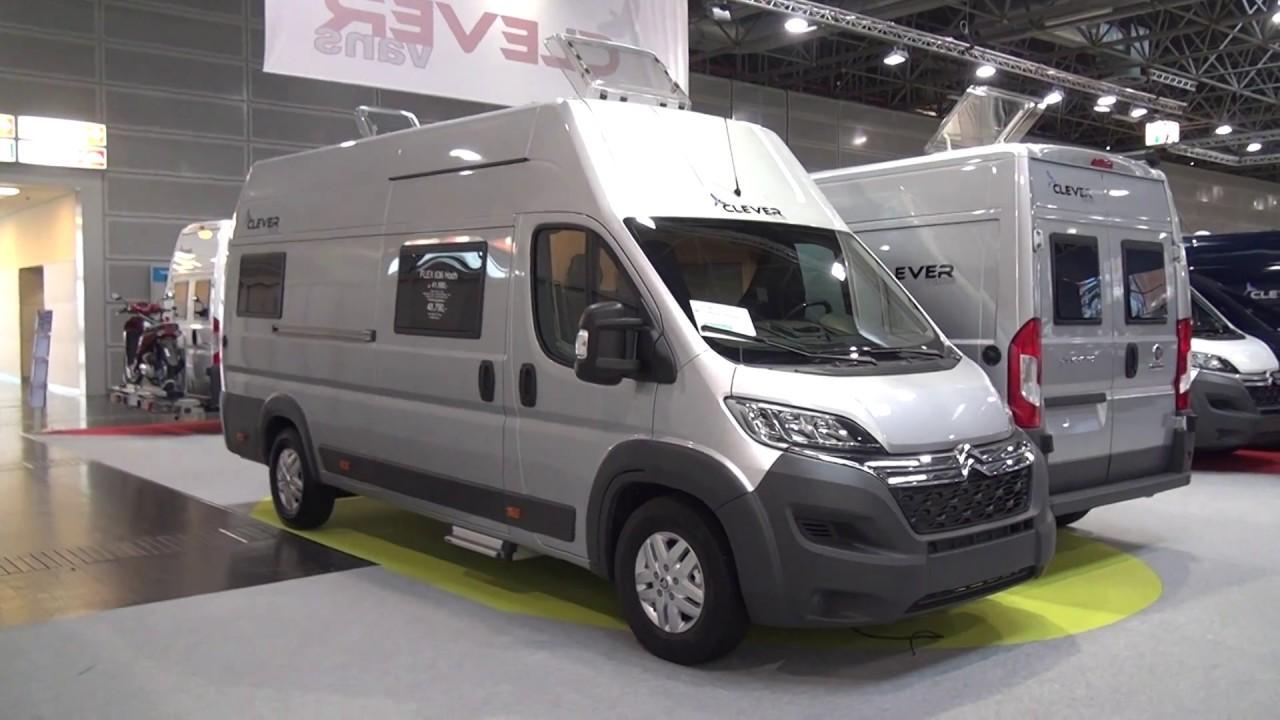 comodidad frío Alfombra de pies  Clever Vans Flex 636 Hoch camper van review - YouTube