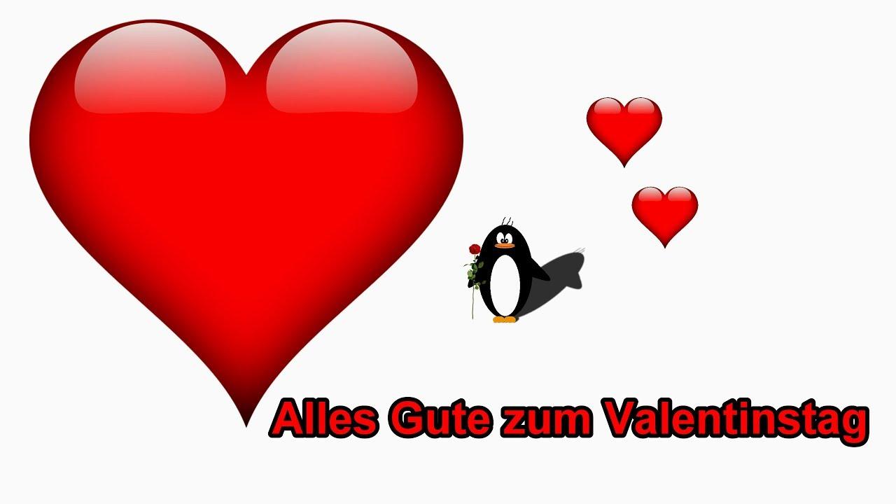 Freunden zum valentinstag gratulieren