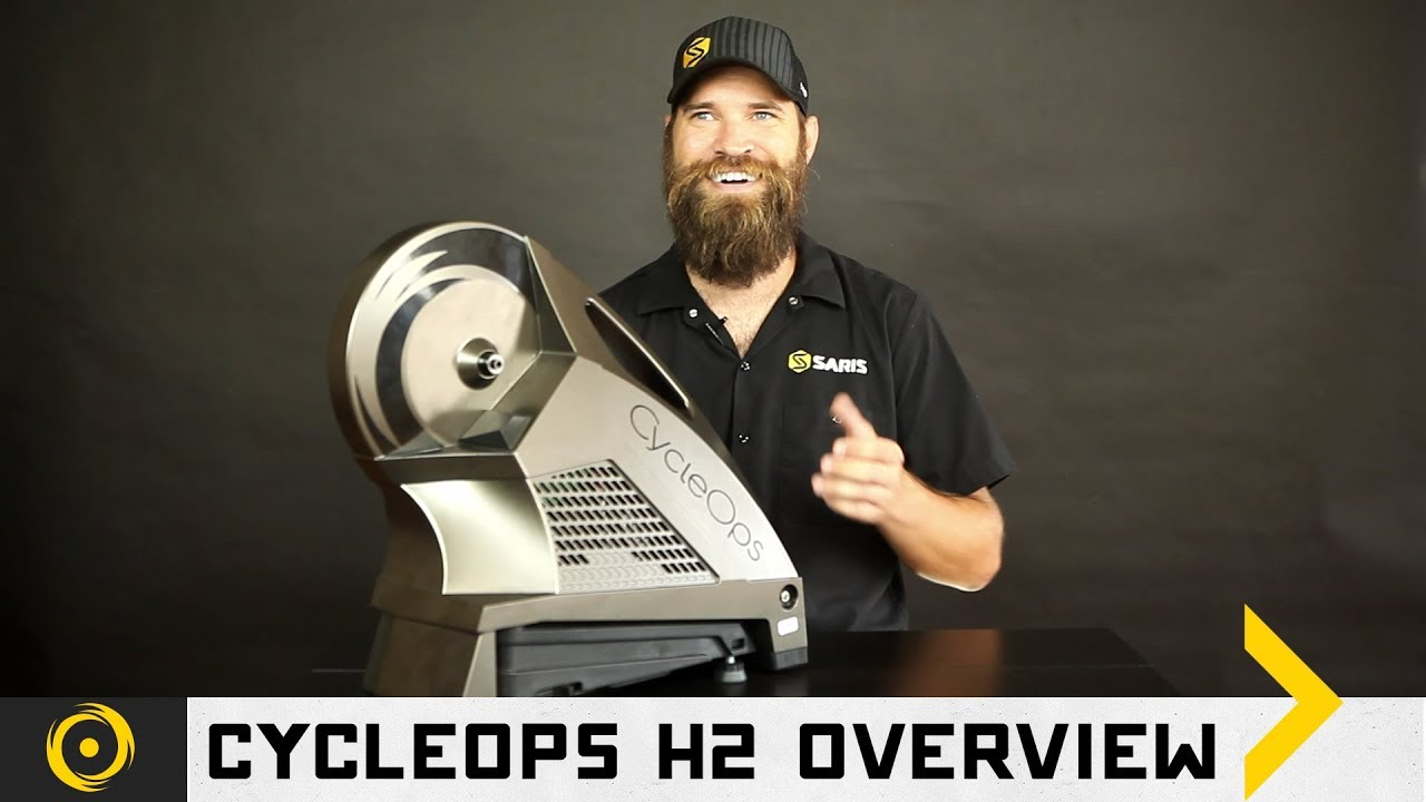 CycleOps H2 Direct Drive Interactive Cycling Trainer
