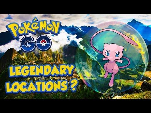 Pokémon GO - Potential Legendary Locations!