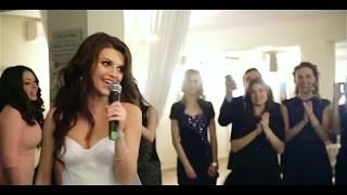 Поет на свадьбе невеста! Поет жениху, песня мужу!#MFYRND