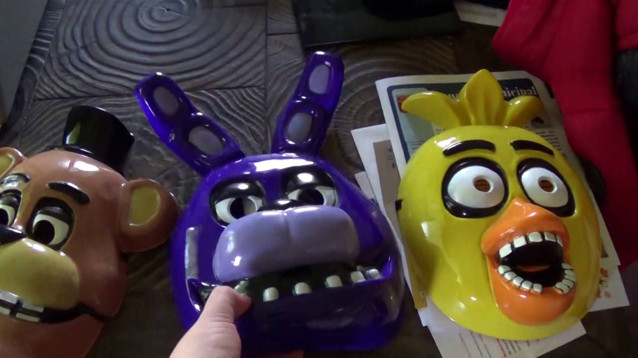 Five Nights at Freddy's Halloween Mask! - YouTube