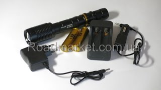 Мега ліхтар Bailong Police bl 2804 T6. Відео тест і Відео огляд