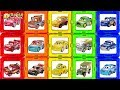 Learning Color Disney Cars Lightning McQueen Mack Truck Magic magnet puzzle Play for kids car toys