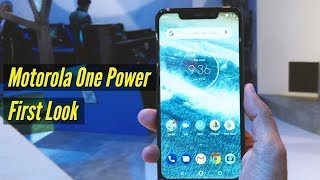Motorola One Power first look | IFA 2018