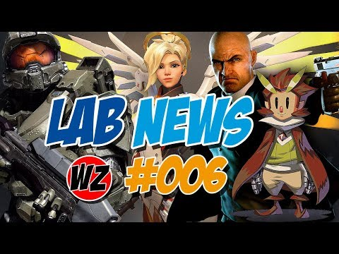 Lab News #006 - Hitman, Owlboy, Perfect World, Rainbow6Siege, Halo Wars, Overwatch - WZGamersLab